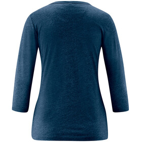 Maier Sports Clare Top 3/4 Mujer, azul